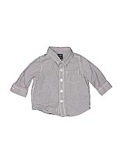 Baby Gap Boys Long Sleeve Button-Down Shirt Size 3-6 mo