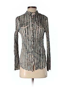 Komarov Long Sleeve Blouse Size S