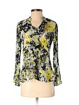 Style&Co Long Sleeve Blouse Size 4 (Petite)