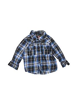 Sovereign Code Long Sleeve Button-Down Shirt Size 18 mo