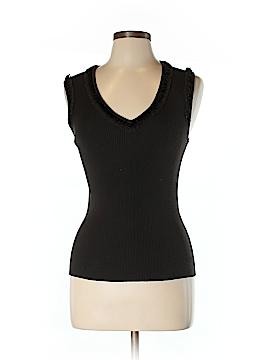 Etcetera Sleeveless Silk Top Size M