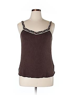 Sigrid Olsen Sleeveless Silk Top Size 1X (Plus)