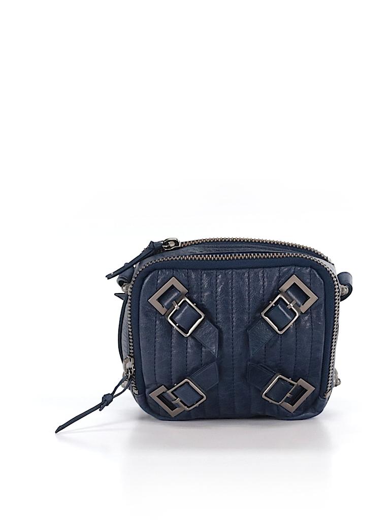 e37bcba91f32 Schuler   Sons Philadelphia 100% Leather Solid Navy Blue Leather ...