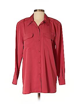Karen Scott Long Sleeve Blouse Size 6