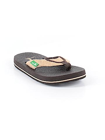 Sanuk Flip Flops Size 8 - 9 Kids