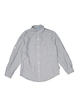 Colours By Alexander Julian Long Sleeve Button-Down Shirt Size 6