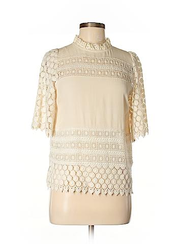 Line & Dot 3/4 Sleeve Blouse Size XS
