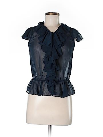 Ralph Lauren Short Sleeve Blouse Size 14