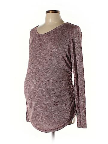 Liz Lange Maternity for Target Long Sleeve Top Size L (Maternity)