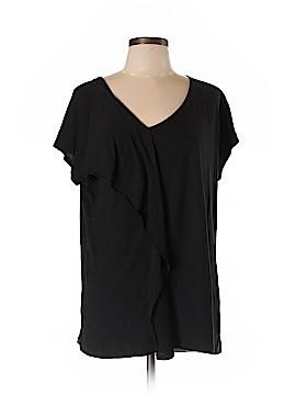 PureDKNY Short Sleeve Top Size L