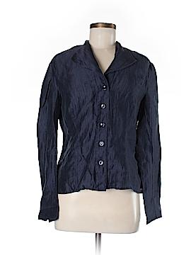 Jones New York Collection Long Sleeve Button-Down Shirt Size 6