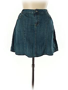 L.A. Blues Denim Skirt Size 20W