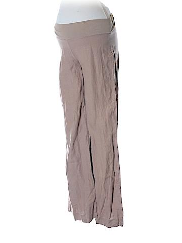 Green Dragon Linen Pants Size L (Maternity)