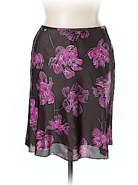 Ann Taylor Silk Skirt Size 14 (Petite)