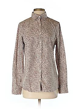 Lands' End Long Sleeve Button-Down Shirt Size 6 (Tall)