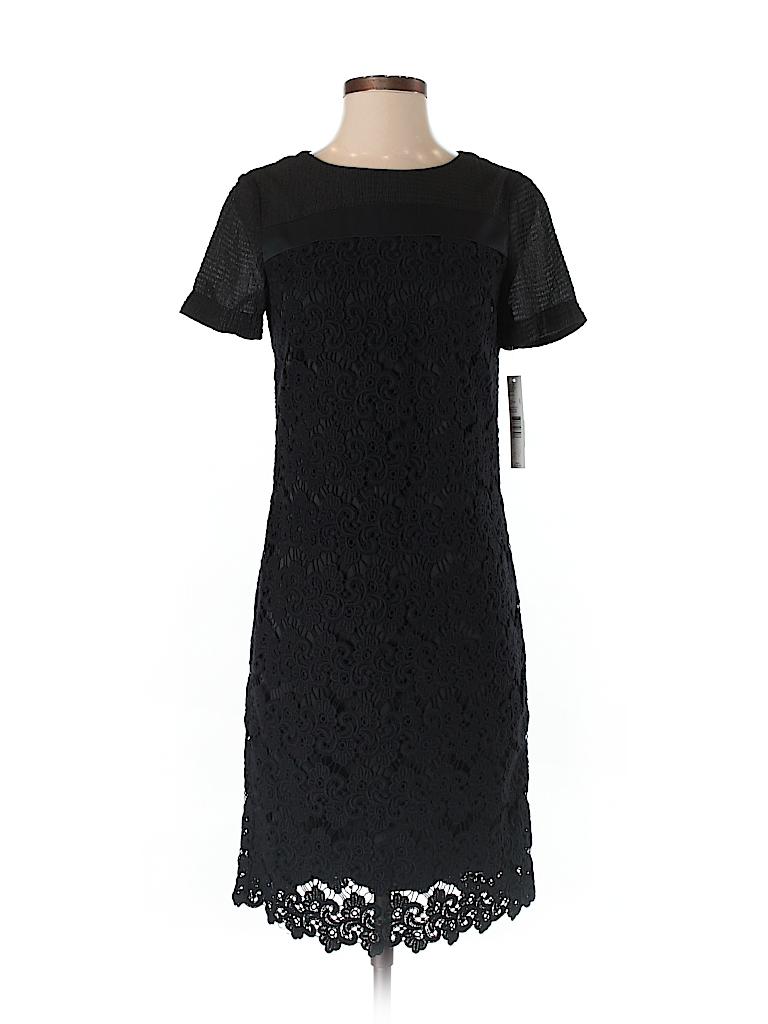 0e47a077c62 Antonio Melani 100% Cotton Lace Black Casual Dress Size 2 - 84% off ...
