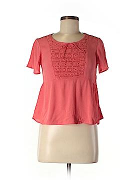 Lottie & Holly Short Sleeve Blouse Size L