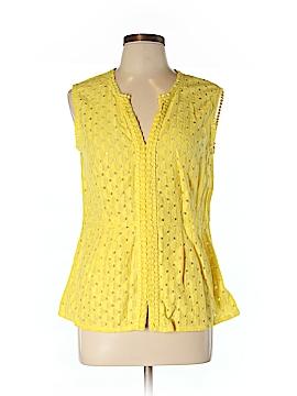 Banana Republic Factory Store Sleeveless Blouse Size 10