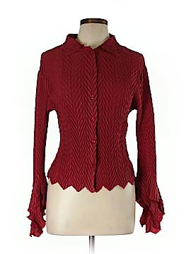 Komarov Long Sleeve Blouse Size L