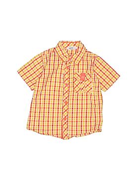 Beebay Short Sleeve Button-Down Shirt Size 2 - 3