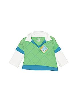 Bungalow Bebe Long Sleeve Polo Size 3-6 mo