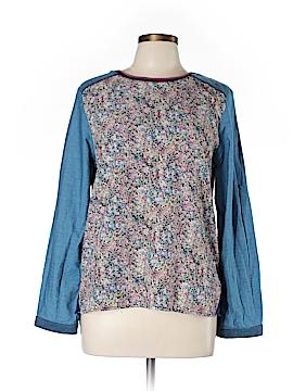 Plains & Prints Long Sleeve Blouse Size 10