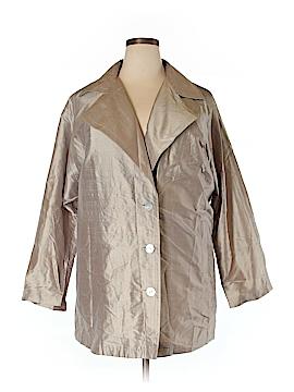 Ellen Tracy Silk Blazer Size L