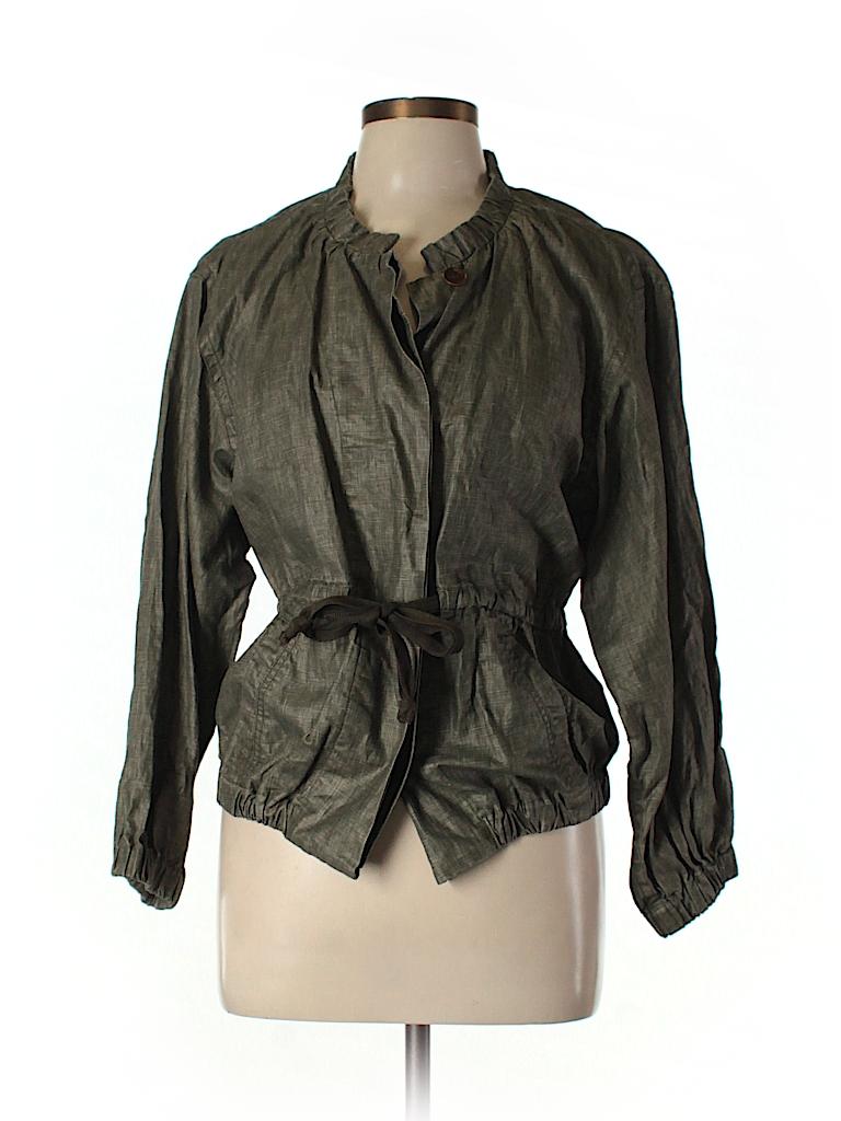 f136878e18 Étoile Isabel Marant Solid Green Jacket Size Med (2) - 81% off | thredUP