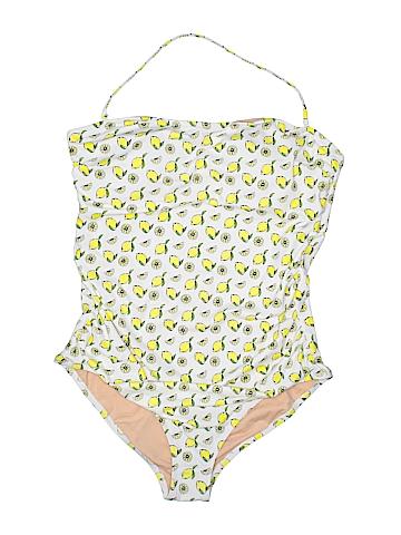 J. Crew Factory Store One Piece Swimsuit Size XL