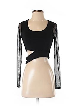 Donna Mizani Long Sleeve Top Size S