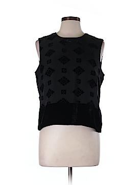 Spenser Jeremy Sleeveless Silk Top Size 12