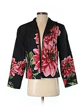 SILK CLUB COLLECTION Silk Blazer Size S