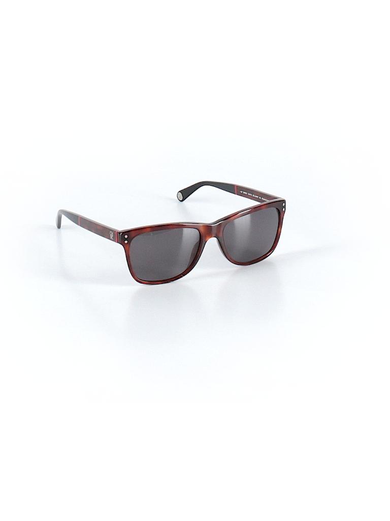 07dc24f73e618 CH Carolina Herrera Solid Brown Sunglasses One Size - 44% off