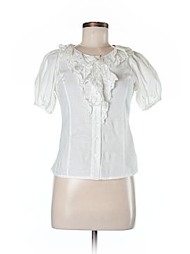 Jill Jill Stuart Short Sleeve Blouse Size S