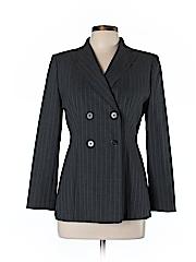 Ann Taylor Women Wool Blazer Size 6 (Petite)