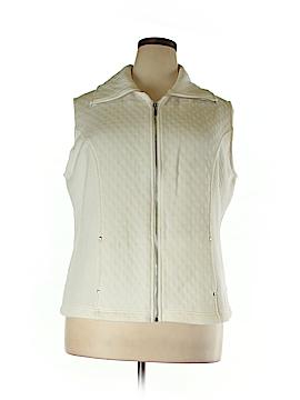 Karen Scott Sport Vest Size 0X (Plus)