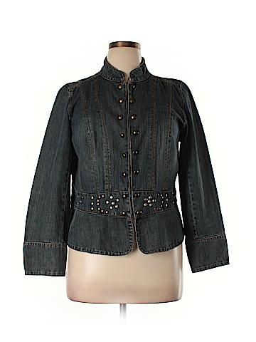 Faded Glory Denim Jacket Size 16