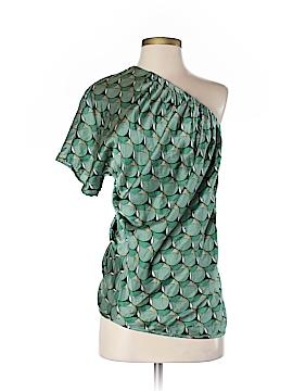 Poleci Short Sleeve Silk Top Size 2