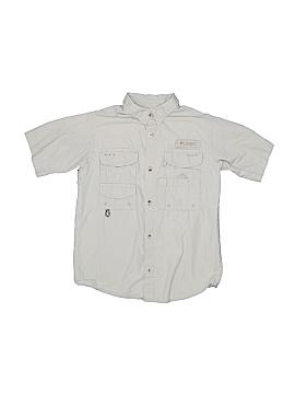 Columbia Short Sleeve Button-Down Shirt Size 7