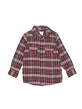 Joe Fresh Long Sleeve Button-Down Shirt Size 4-5