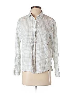 Massimo Dutti Long Sleeve Button-Down Shirt Size S