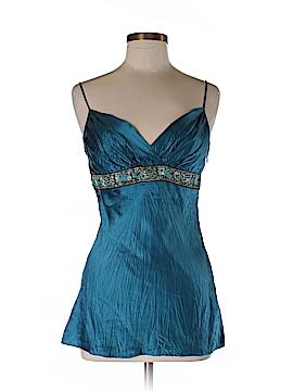 Betsey Johnson Sleeveless Silk Top Size 8