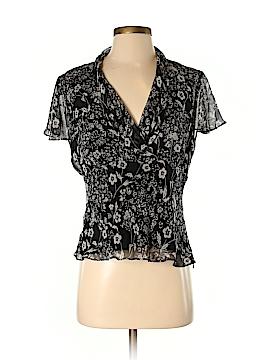 Spenser Jeremy Short Sleeve Silk Top Size S