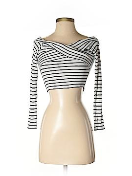 Topshop Long Sleeve Top Size 0 (Petite)