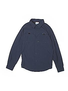 Columbia Long Sleeve Button-Down Shirt Size 10 - 12