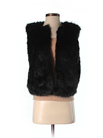 J. Crew Factory Store Faux Fur Vest Size S