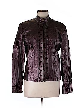 Clothes Faux Leather Jacket Size L
