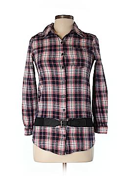 Cache Cache Long Sleeve Button-Down Shirt Size 16