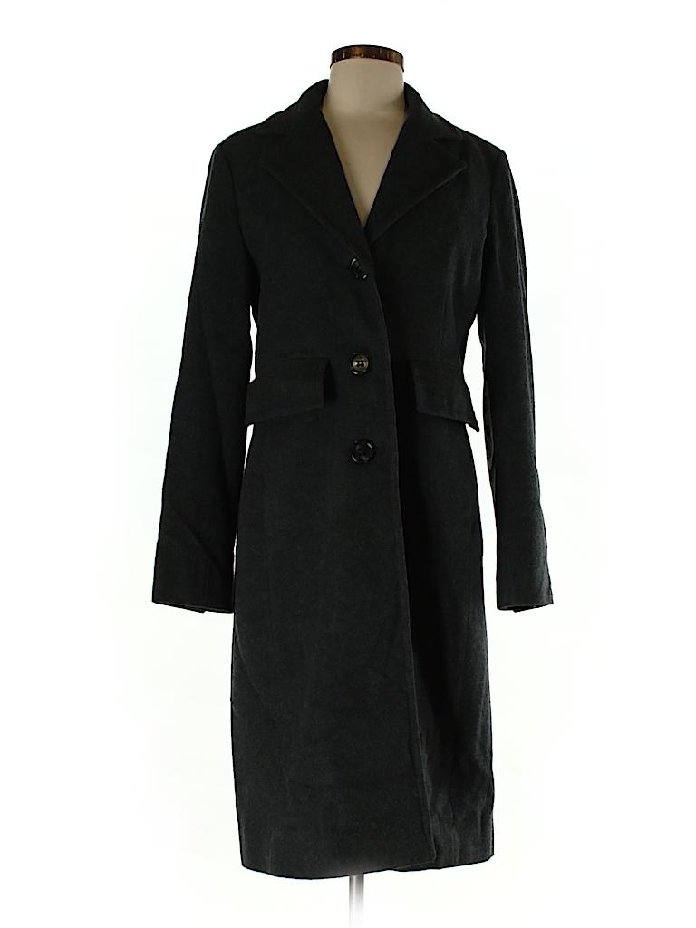 BCBGMAXAZRIA Women Wool Coat Size S