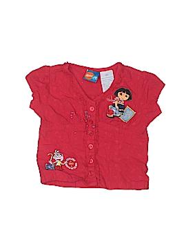 Nick Jr Short Sleeve Button-Down Shirt Size 4T